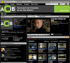 Kurzfilm-Portal von ACIB bei Dailymotion