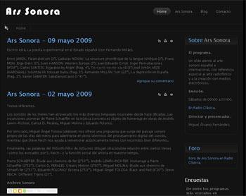 Das Blog von Ars Sonora