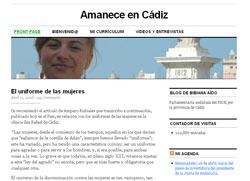 Amanece en Cádiz - Blog von Bibiana Aído