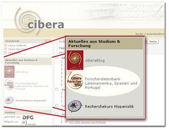 Integration des ForscherWikis auf der Startseite von cibera