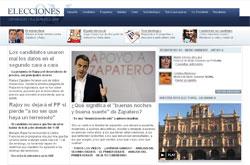 Wahlportal von 'El País'