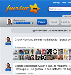 Los tweets con más favoritos de Arturo Pérez-Reverte