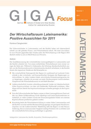Der Wirtschaftsraum Lateinamerika: Positive Aussichten für 2011