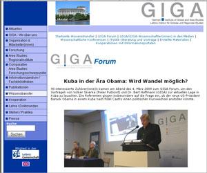 Kuba-Vorträge auf GIGA-Forum