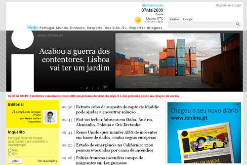 i  informação - neue portugiesische Zeitung