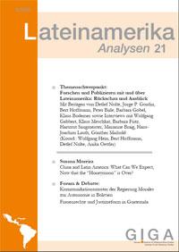 Zeitschrift 'Lateinamerika Analysen'