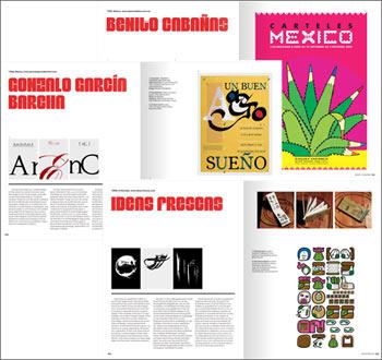 Latin American Graphic Design - Beispielseiten