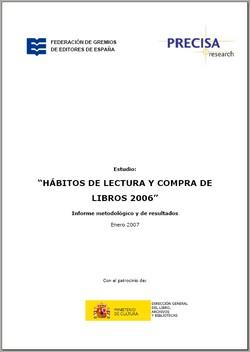 Hábitos de Lectura y Compra de Libros 2006