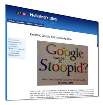 Miguel Artime: De cómo Google nos hace más listos