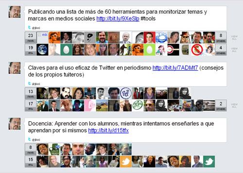 Los Tweets con más Retweets de José Luis Orihuela