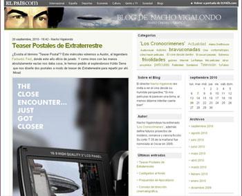 Blog de Nacho Vigalondo