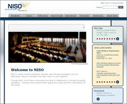 NISO - National Information Standards Organization