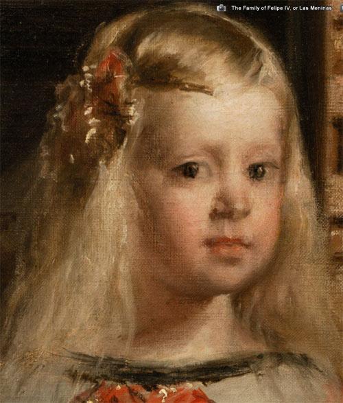 Ausschnit aus Velázquez' Las Meninas