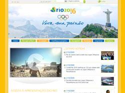 rio2016 - Website zur Olympiabewerbung von Rio de Janeiro