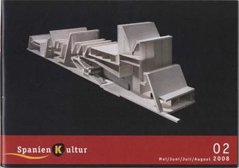 Spanien Kultur 02 /2008 - Modell des Kongresszentrums Expo 2008 in Zaragoza