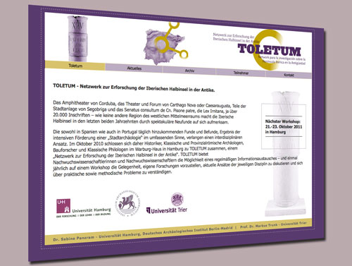Toletum - Website