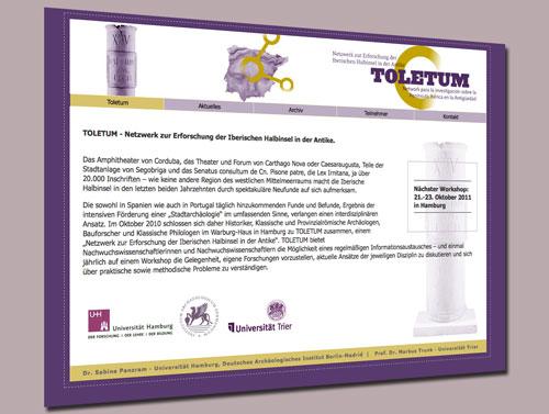 Toletum - Website
