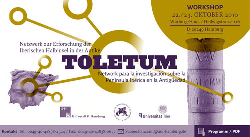 Toletum - Netzwerk zur Erforschung der  Iberischen Halbinsel in der Antike