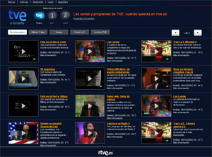 TVE a la carta - ausgewählte Programme online sehen