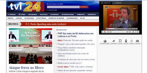 TVI24 - Portugals neuer Nachrichtenkanal