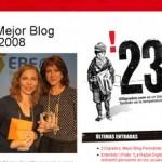 Blogauszeichnungen: Premios Bitácoras 2008
