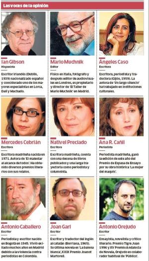 Opinión: Neue Mitglieder bei Público