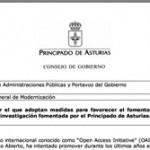 Asturien unterstützt Open Access
