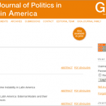 Journal of Politics in Latin America im Open-Access