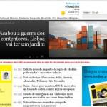 Neue portugiesische Zeitung: i wie informação