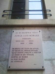 Die Gedenktafel in der Grand' Rue 26