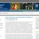 Weblog zum Thema Seguridad Ciudadana