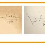 Los libros de Cortázar – Signierte und annotierte Schätze aus seiner Privatbibliothek