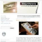 Biblumliteraria – Blog zur Digitalen Literatur