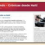 Vagamundo: Fran Sevilla berichtet aus Haiti