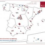 Universidad de Castilla-La Mancha: Karte der Spanischen Archive