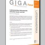GIGA Focus: Lateinamerikas Nahostpolitik zwischen Israel und Iran