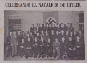 Feier im Deutschen Klub in Costa Rica, 1936
