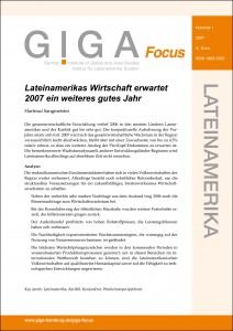 GIGA Focus Lateinamerika