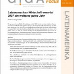 Kann Lateinamerika die Millennium Development Goals erreichen?