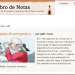 Neue Geschichts-Kolumne auf Libro de Notas: Máquina de perspectiva