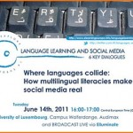 "Webinar ""Where languages collide: How multilingual literacies make social media real"""