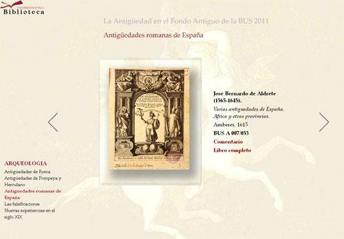 José Bernardo de Aldrete.  Varias antiguedades de España, Africa y otras provincias.