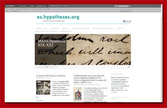 es.hypotheses.org, el portal de la comunidad Hispanohablante