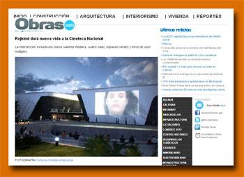 Bau- und Architektur-Magazin 'Obras web'
