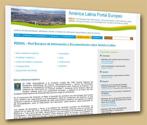 REDIAL (Red Europea de Información y Documentación sobre América Latina)