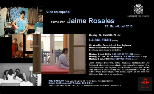 Filmreihe Jaime Rosales