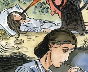 Comics auch ein Thema auf der Feria del libro in Madrid