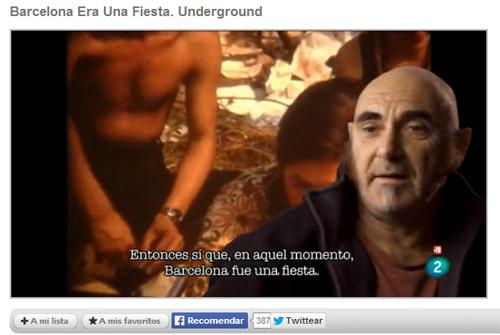 Barcelona Era Una Fiesta. (Underground 1970 - 1983)