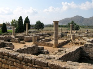 Ruinen der antiken Stadt Pollentia