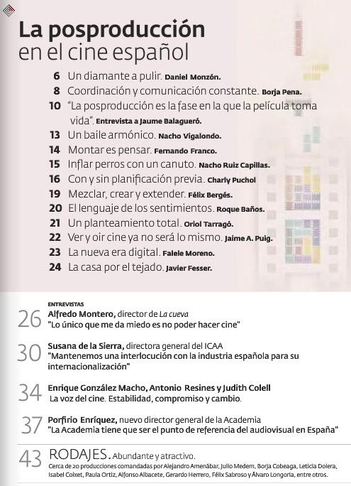 Inhaltsverzeichnis Academia